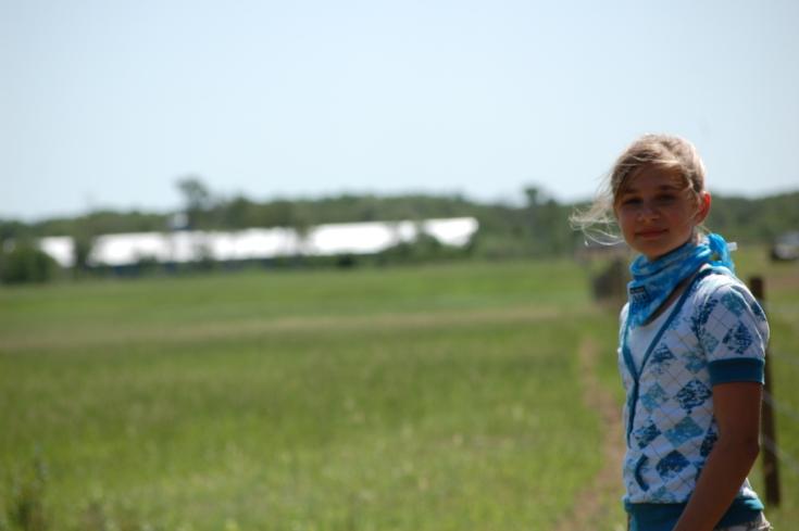 My prairie girl Wave